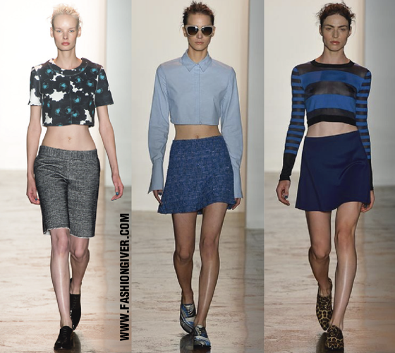 Crop Tops Peter Som Spring Summer 2014