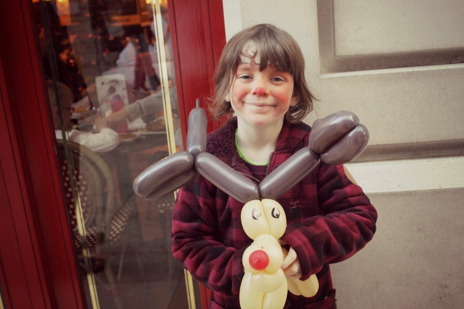 Reindeer Balloon Animal