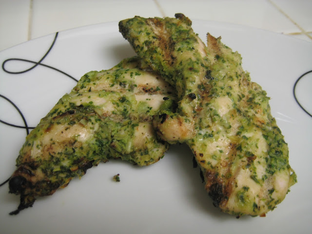 ... Chronicles: Grilled Thai Chicken Breasts with Herb-Lemongrass Crust