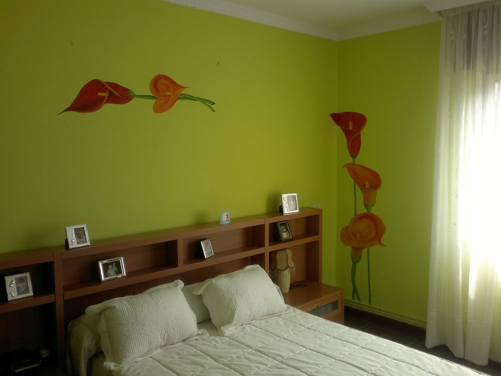 Las cosas de paula en verducido mural habitaci n - Mural para habitacion ...