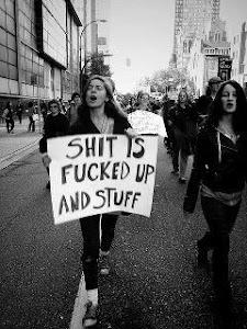 protest .. or ... con-test ...