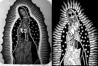 virgen de guadalupe-religion-mexico-dia de los muertos