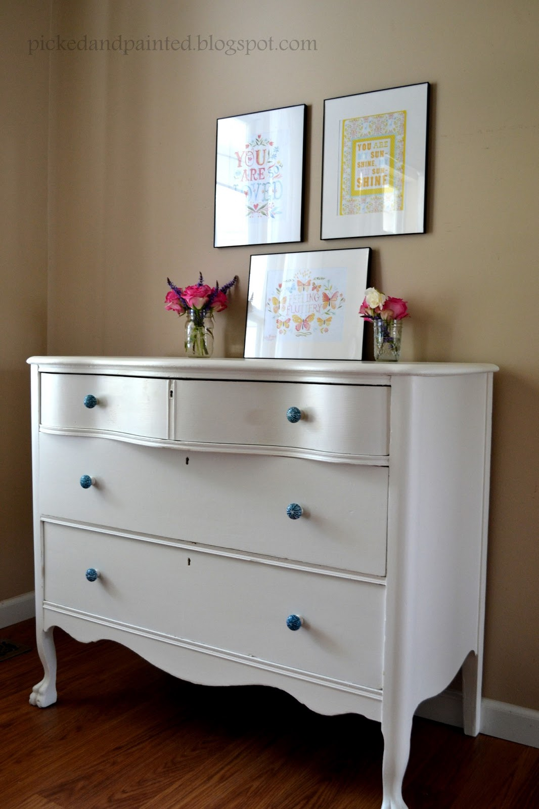 Helen Nichole Designs Keeping It In The Family Dresser Makeover