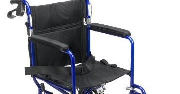 Medline Transport Wheelchair With Brakes Wheelchair