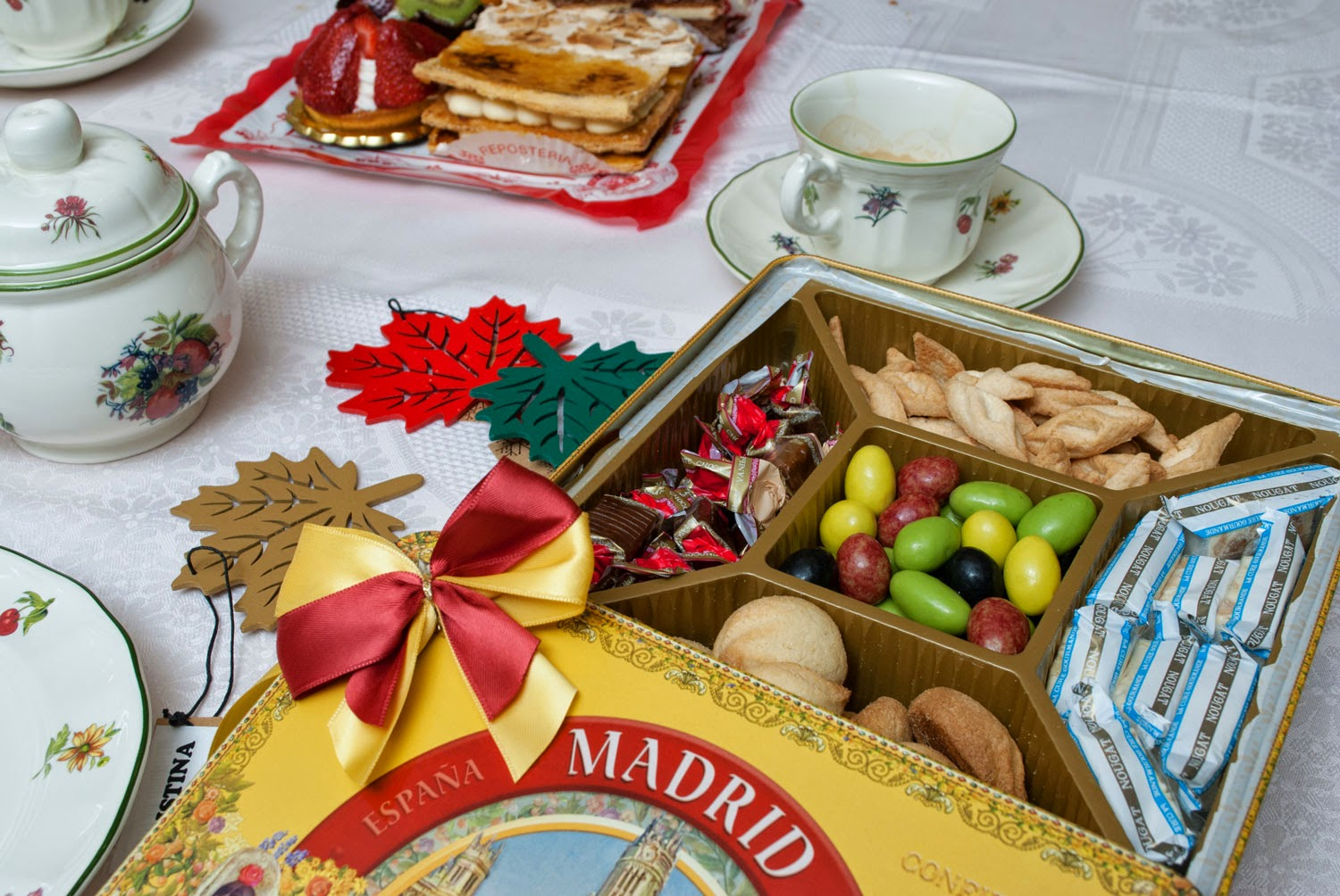 Biscuits, sweets, food. Gift holidays