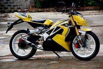 Modifikasi Motor Jupiter Mx Tahun 2005