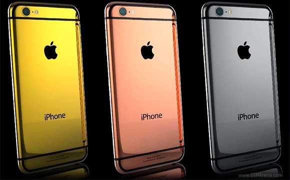 Goldgenie offers 24ct gold-plated iPhone 6 and iPhone 6 Plus