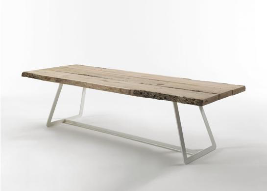 seaseight design blog: design // raw wood table - Maison Du Monde Tavoli Allungabili