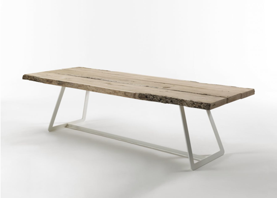 Seaseight design blog design raw wood table - Maison du monde tavolo industriale ...