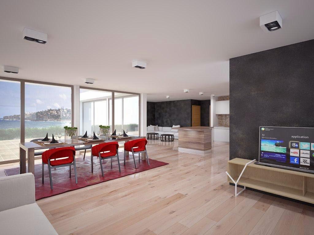 Modern Beach House Plan
