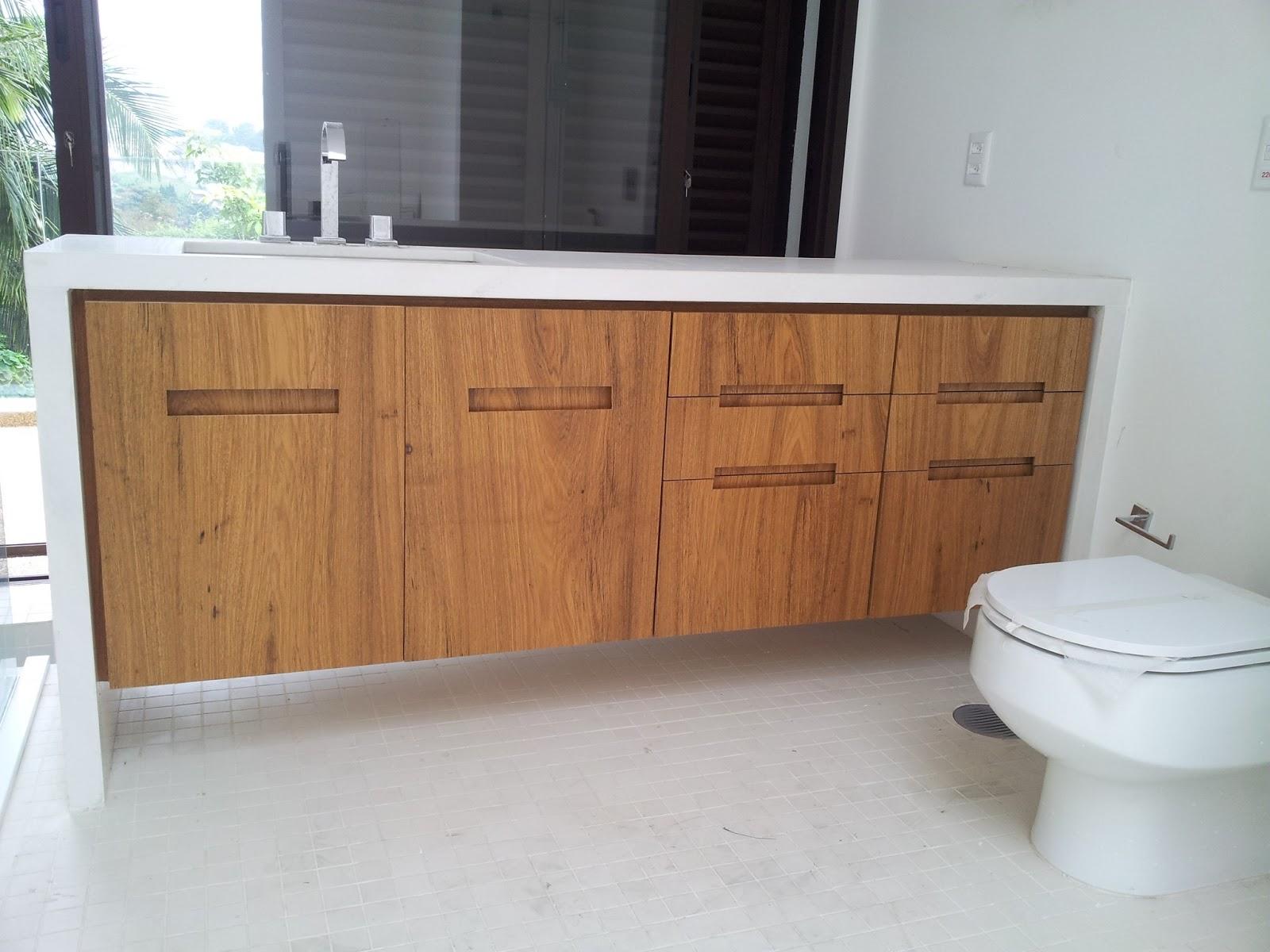 Móveis Sob Medida: Gabinete de banheiro #8E613D 1600 1200