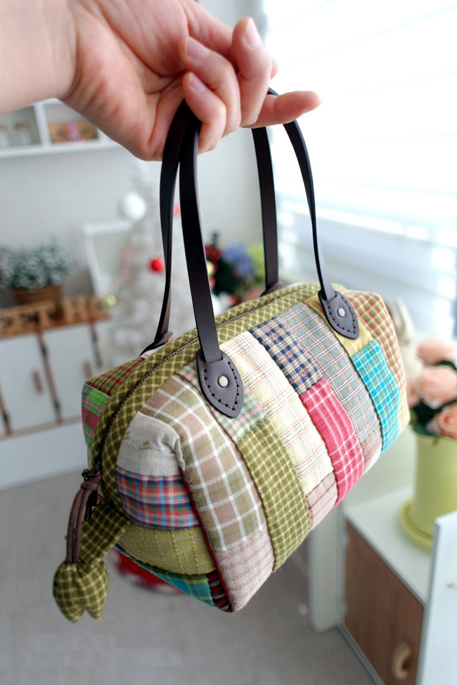 Boston Bag Patchwork Tutorial ~ DIY Tutorial Ideas!