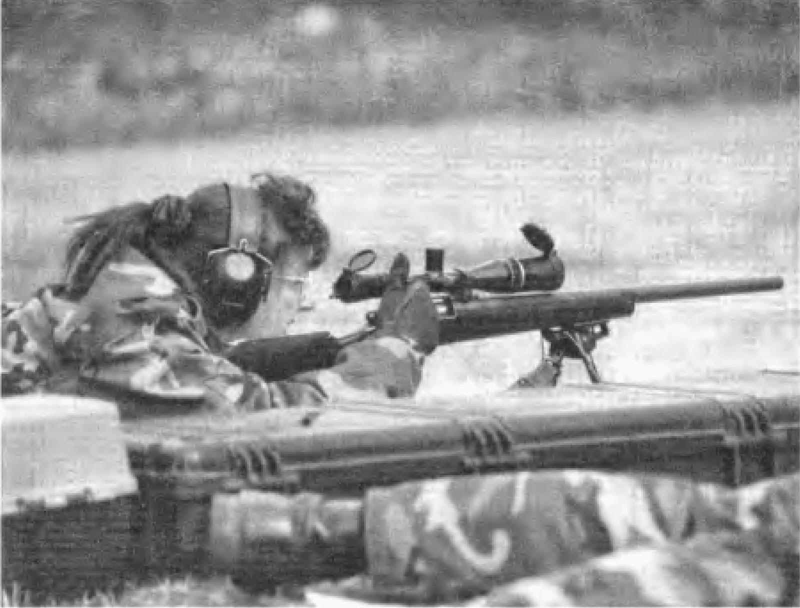 полицейский снайпер