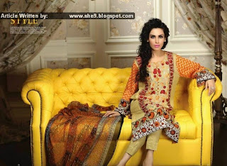Ayesha Chottani Eid 2015 Collection by Shariq | Embroidered Eid '15 Dresses