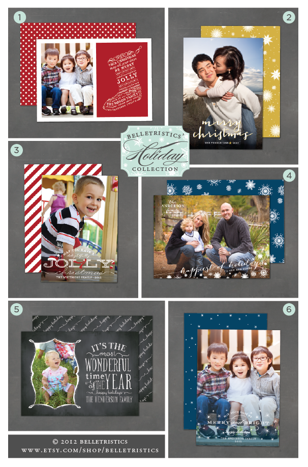 printable holiday photo card, print at home christmas card, diy holiday cards