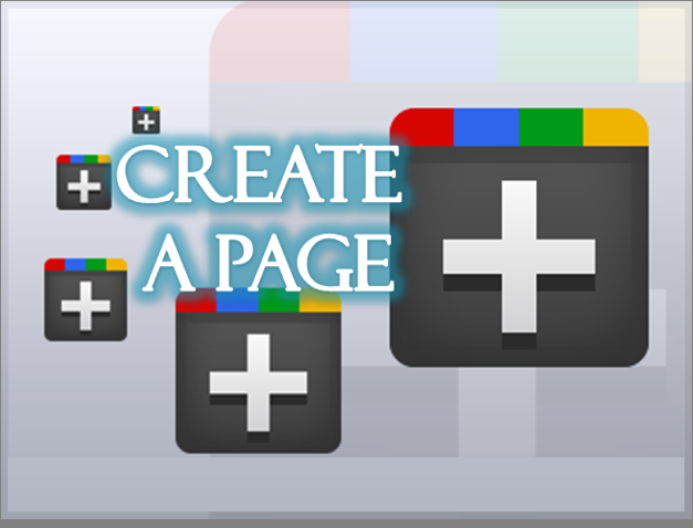 how to create your website on google