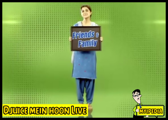 Djuice Mein Houn Live (Friend and family) TVC 2013 - Sohai Ali Abro