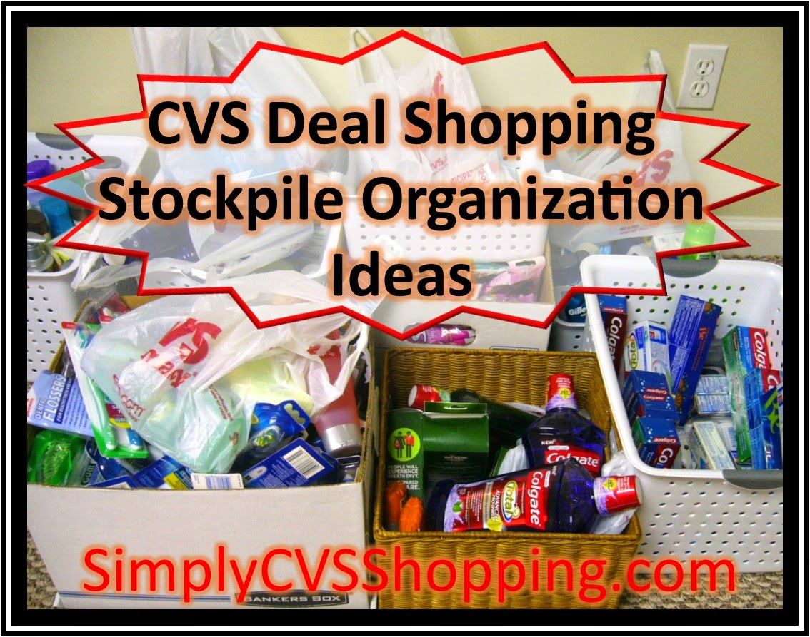 coupon stockpile organization ideas