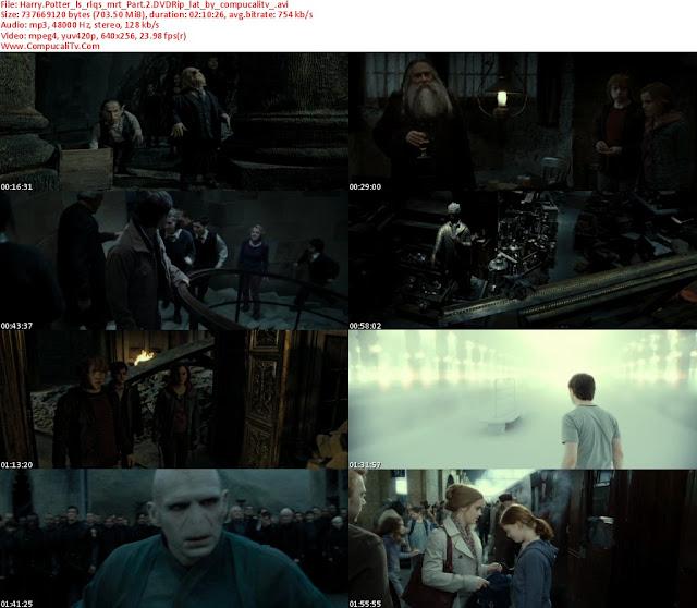 Harry Potter 7 Parte 2 Las Reliquias de la Muerte 2011 DVDRip Español Latino Descargar 1 Link
