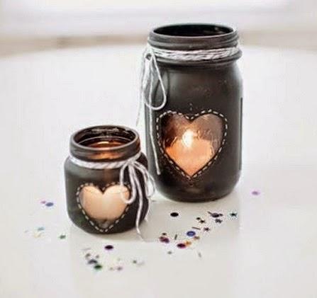 Como decorar frascos de vidrio diy manualidades - Diy frascos decorados ...
