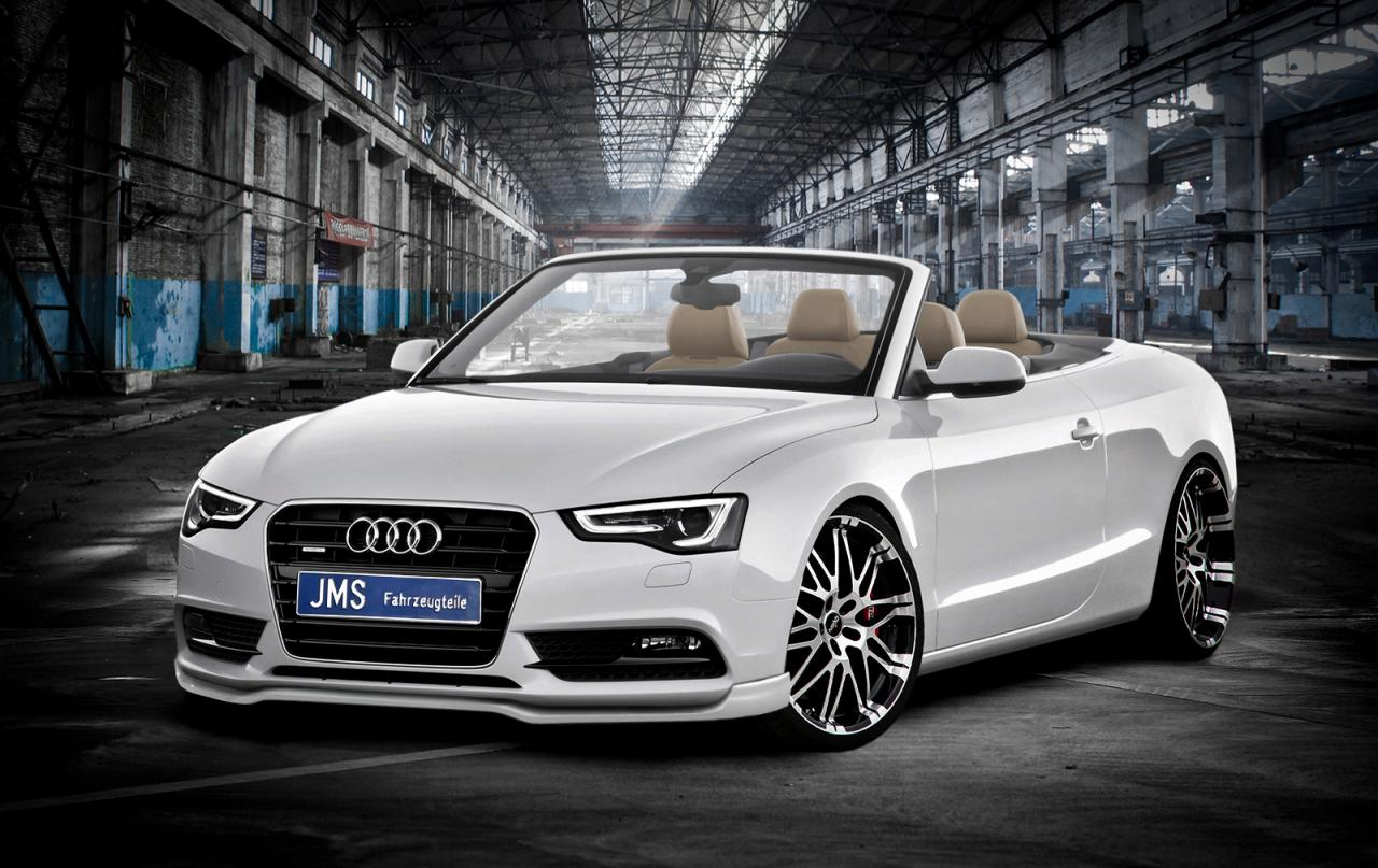 audi a5 cabrio facelift with jms styling package car. Black Bedroom Furniture Sets. Home Design Ideas