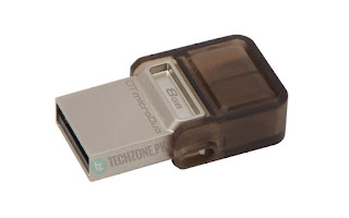 Buy Kingston DataTraveler microDuo OTG Flash Drive Online in Pakistan