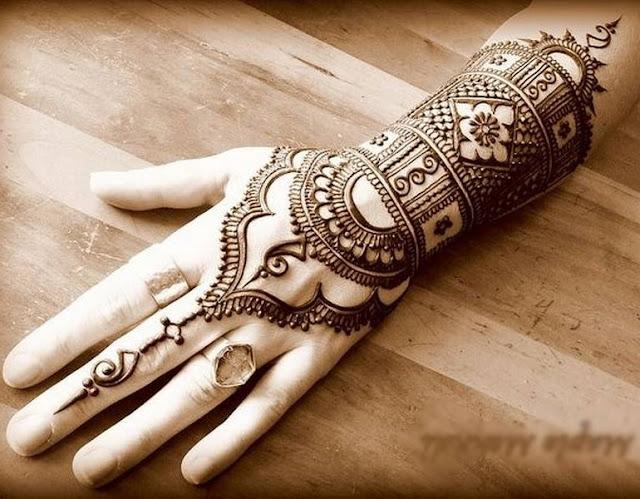 Mehndi Unique Designs 2015 : Bridal mehndi designs july
