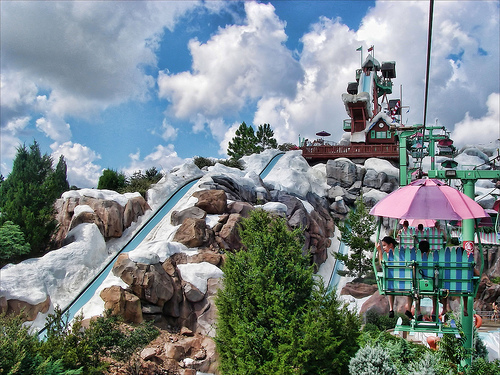 Blizzard Beach El maravilloso parque acuático Disneys Blizzard Beach