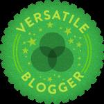 Premio Versatile Blogger.