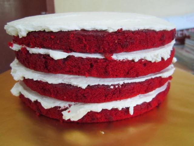 Kek Red Velvet.