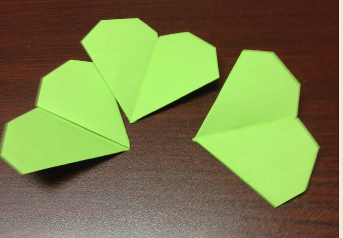 view from river mountain shamrock origami