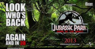 jurassic park 4 dawn of the giants parque jurasico 3d poster fake joe johnston