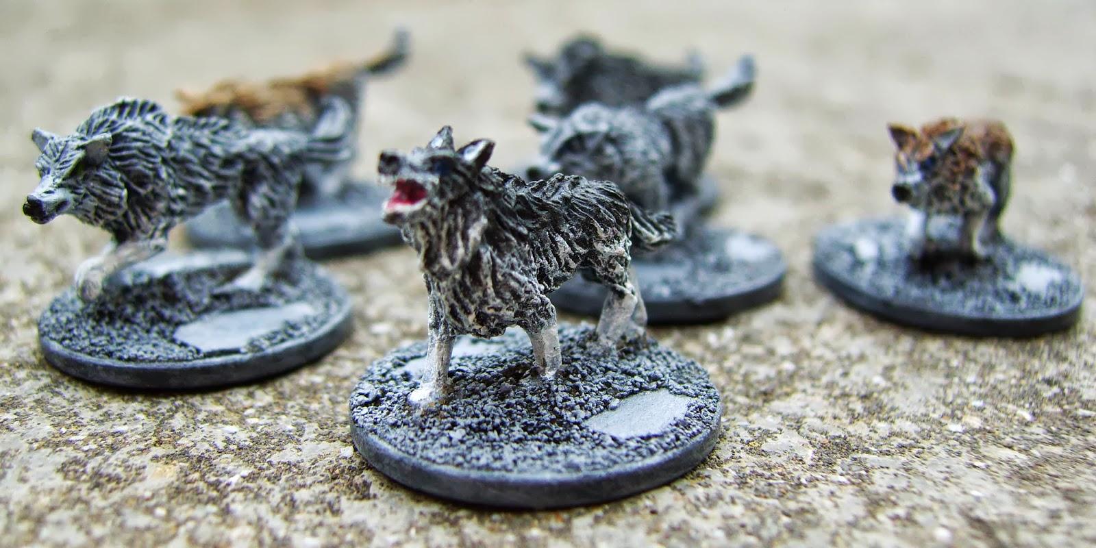 Giant Wolves Copplestone Castings 10mm