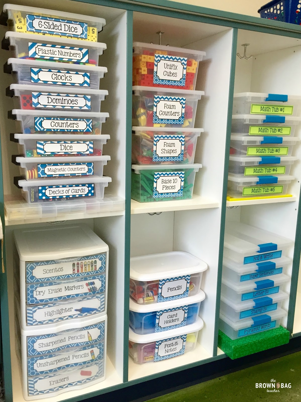 Classroom Organization Ideas For Preschool ~ Classroom organization tips and tricks the brown bag