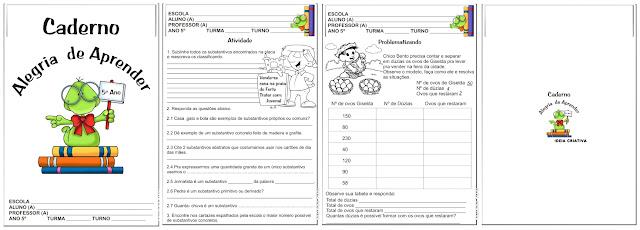 Caderno Alegria de Aprender 5º Ano / 2011