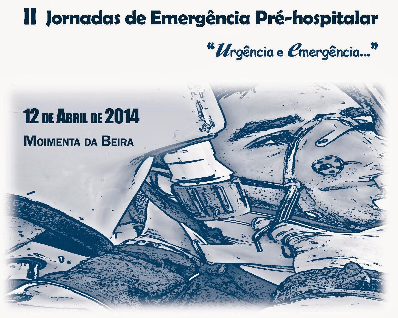 II JORNADAS DE EMERGÊNCIA PRÉ-HOSPITALAR