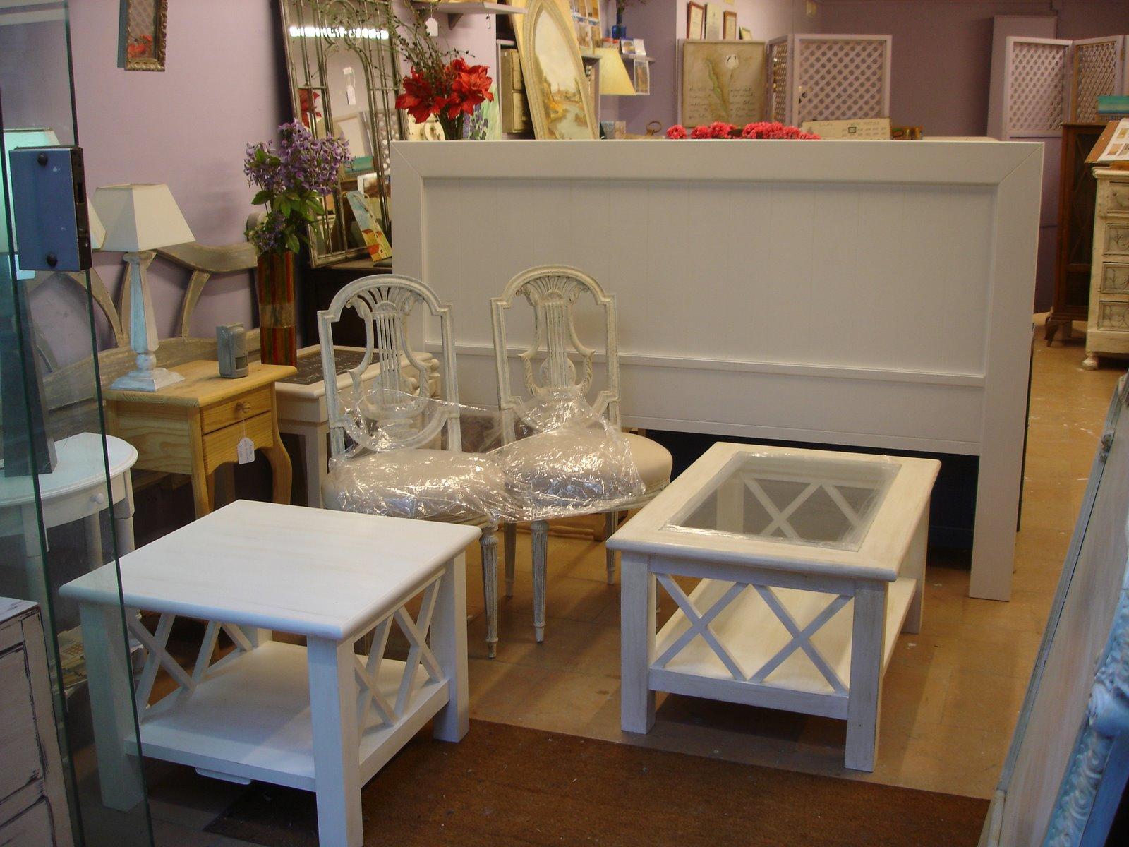 Tienda de muebles candini venta y restauraci n blanco for Muebles provenzales online