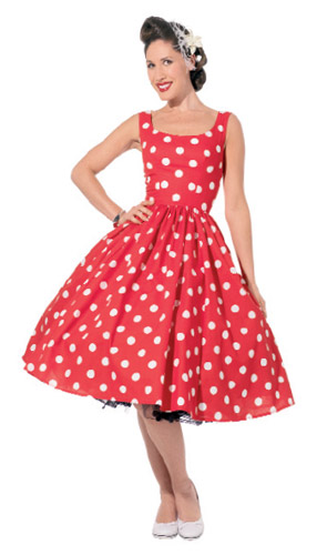 The Vintage Pattern Files: 1950\'s Sewing - Vintage Style Tea Dress