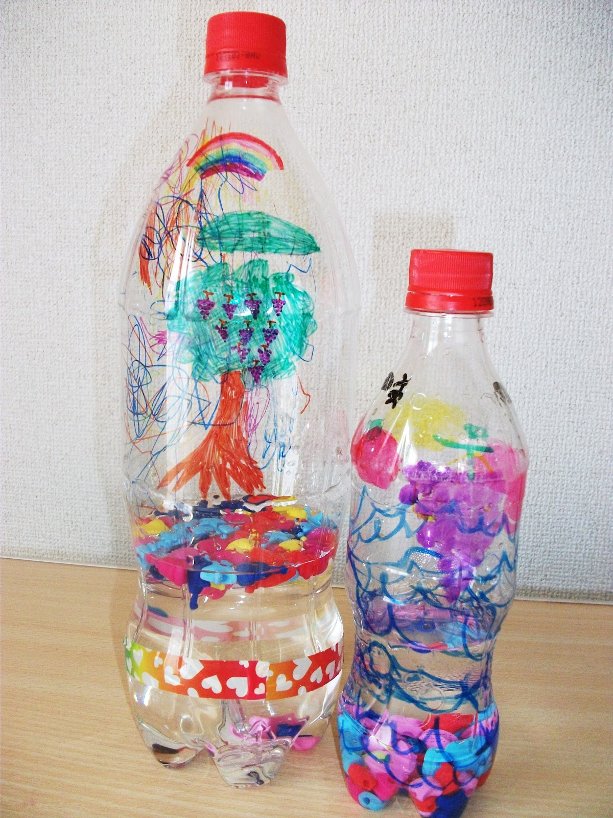 water bottle shaker craft preschool education for kids
