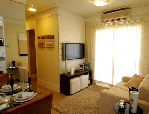 decora o salas pequenas de apartamento cores da casa On salas para apartamentos pequeños