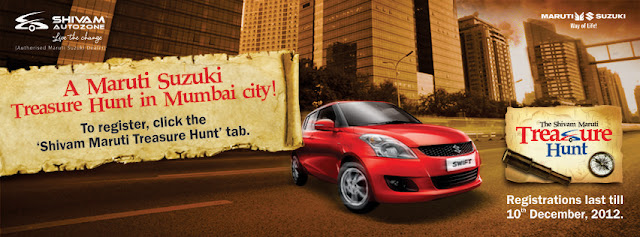 The Shivam Maruti Treasure Hunt