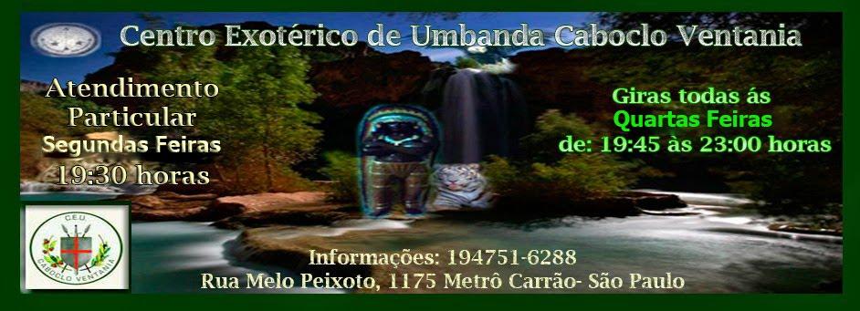 Centro Exotérico de Umbanda  Caboclo Ventania