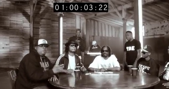 Video - DJ Quik, E-40, Kurupt, Snoop Dogg, Xzibit  Participa do Cypher do Bet  Hip Hop Awards 2012