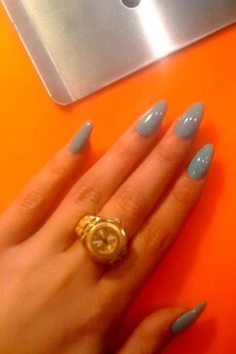 The Captivating Fake white long nail designs Photograph