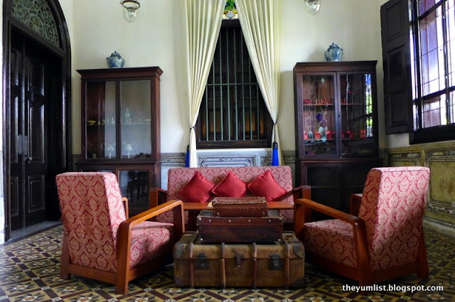 The Blue Mansion, Penang, unesco site, boutique hotel