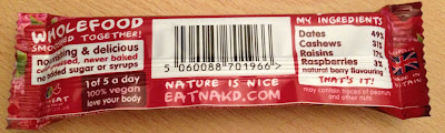 nakd berry bar ingredients