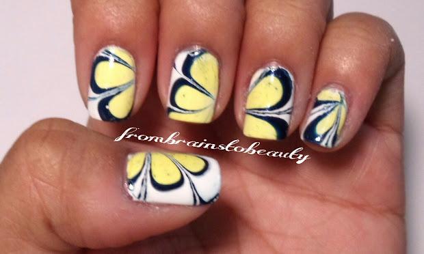 brains beauty nail tutorial