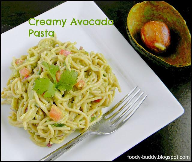 Foody - Buddy: Creamy Avocado Pasta
