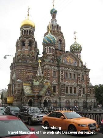 Crkve u Peterburgu