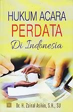 toko buku rahma: buku HUKUM ACARA PERDATA DI INDONESIA, pengarang zainal asikin, penerbit kencana